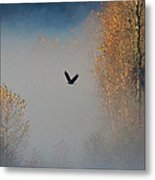 Out Of The Fog Metal Print