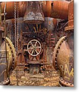 Out Of The Furnace Metal Print
