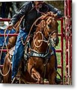 Out Of The Gate Metal Print
