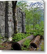 Out From The Past Metal Print