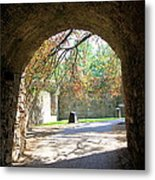 Out Of The Tunnel Metal Print