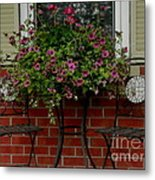 Out On The Porch Metal Print