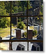 Out Our Window Metal Print