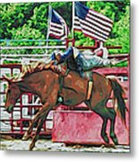 Out The Gate Metal Print
