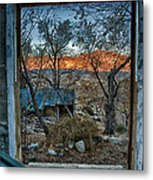 Out The Window Metal Print