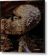 Out  There Metal Print