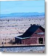 Out There In Nowhere Metal Print