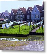 Out To Dry Metal Print