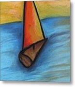 Out To Sea Metal Print