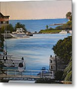Out To The Bay Metal Print