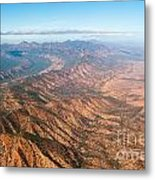 Outback Ranges Metal Print