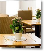 Outdoor Dining Tables Metal Print