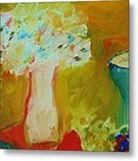 Outdoor Still Life Metal Print