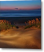 Outer Banks - Before Sunrise On Pea Island I Metal Print