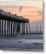 Outer Banks Sunrise Metal Print
