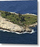 Outer White Island, Boothbay Harbor Metal Print