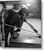 Outlaw Pool Metal Print