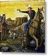 Outlaw Trail Metal Print