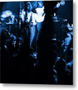 Outlaws #13 Blue Metal Print
