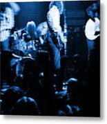 Outlaws #14 Blue Metal Print