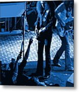 Outlaws #16 Art Blue Metal Print