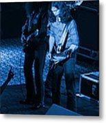 Outlaws #18 Blue Metal Print