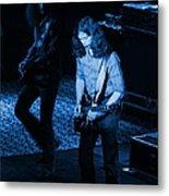 Outlaws #19 Blue Metal Print