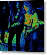 Outlaws #25 Crop 2 Art Psychedelic Metal Print