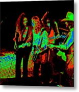 Outlaws #26 Crop 2 Art Cosmic Metal Print