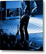 Outlaws #29 In Blue Metal Print