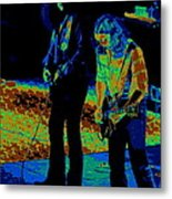 Outlaws #31 Crop 2 Art Cosmic Metal Print