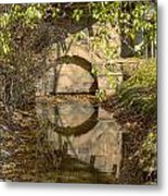 Outlet At The Mill Metal Print