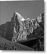 1m3621-bw-outlier Of  Mt. Murchison  Metal Print