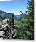 Outlook From The Ridge Metal Print