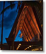 Outrigger Reef On The Beach Metal Print