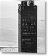 Outside Looking In - Willis Tower Chicago Metal Print