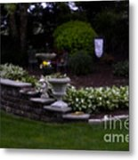 Outside The Garden  Pin-hole Photo Metal Print