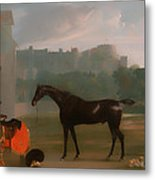 Outside The Guardhouse At Windsor Metal Print
