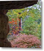 Outside The Tunnel Metal Print