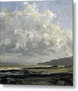 Outskirts Of Trouville Metal Print