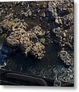 Over Look On The James River Metal Print