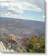 Over Looking The Canyon Metal Print