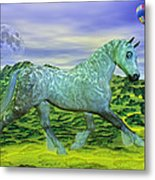 Over Oz's Rainbow Metal Print by Betsy Knapp