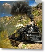 Over The Animas River Metal Print