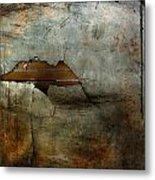 Over The Brick Wall One Metal Print