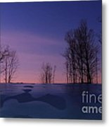 Over The Hill Metal Print