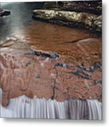 Over The Red Rock Metal Print
