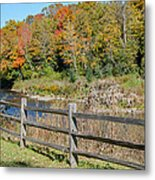 Over The River And Into The Through The Woods  Metal Print