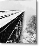 Over The Side Metal Print by Cheryl Helms