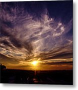 ...over There... Metal Print